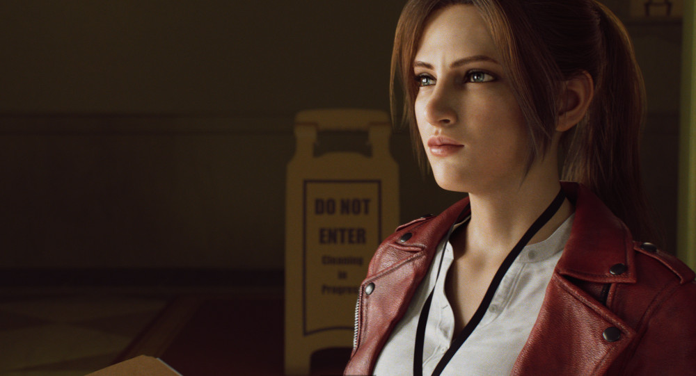 Claire in Resident Evil: Infinite Darkness.