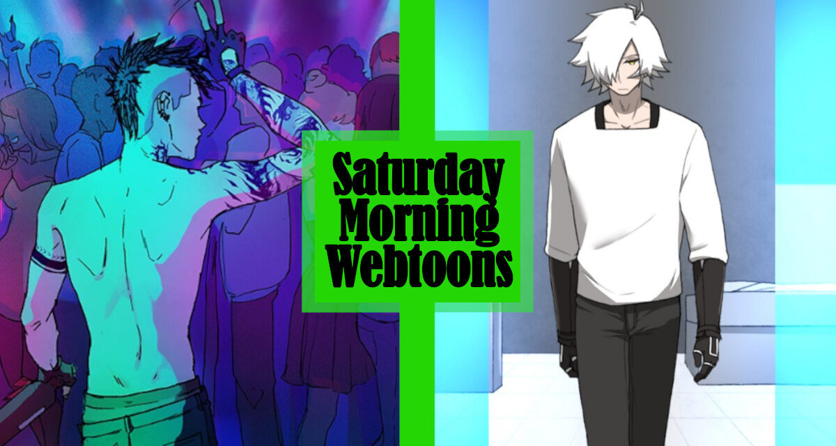 Saturday Morning Webtoons: THE RED KING and CODE ADAM