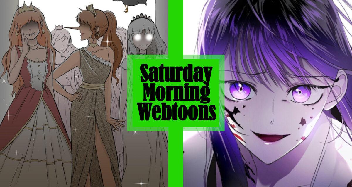 Saturday Morning Webtoons: CURSED PRINCESS CLUB and YOUR THRONE