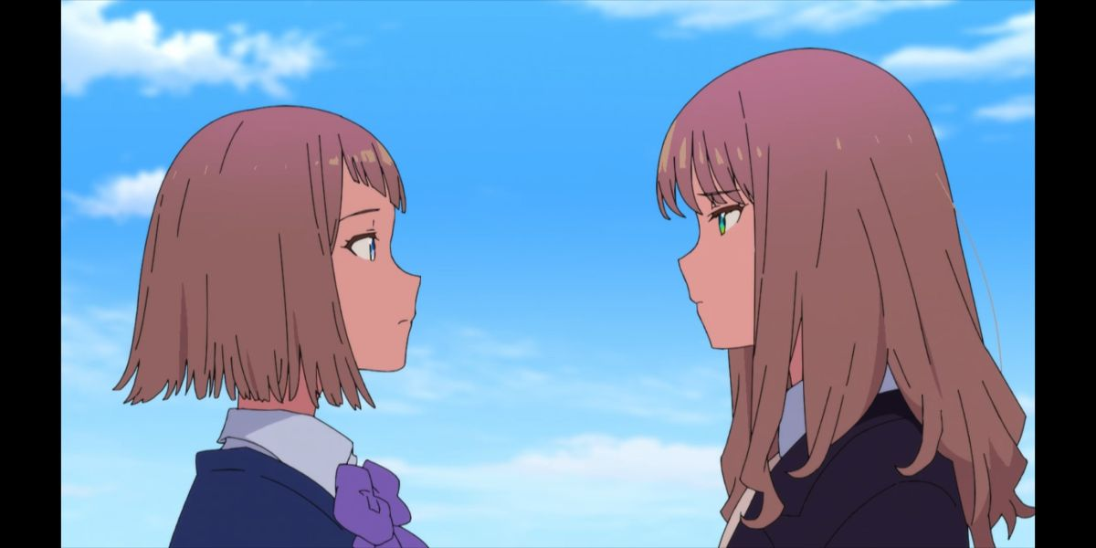 Kano and Yume (SSSS.DYNAZENON season 2 episode 10)
