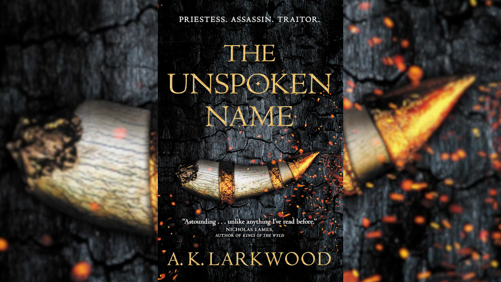 The Unspoke Name Book cover.