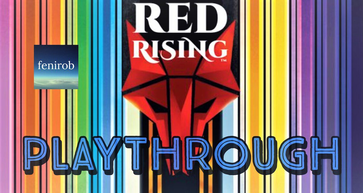 RED RISING: Take a Tabletop Trip to Mars