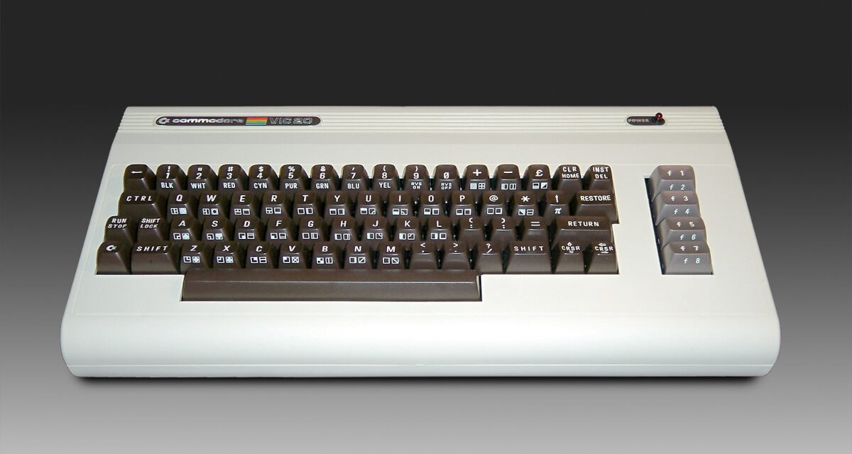 Retro Revisits: In the Beginning There Was the COMMODORE VIC-20