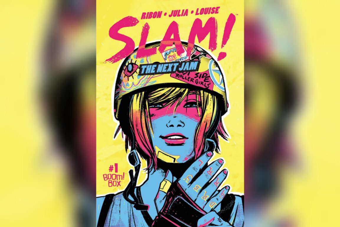 Cover of SLAM!; queer comics