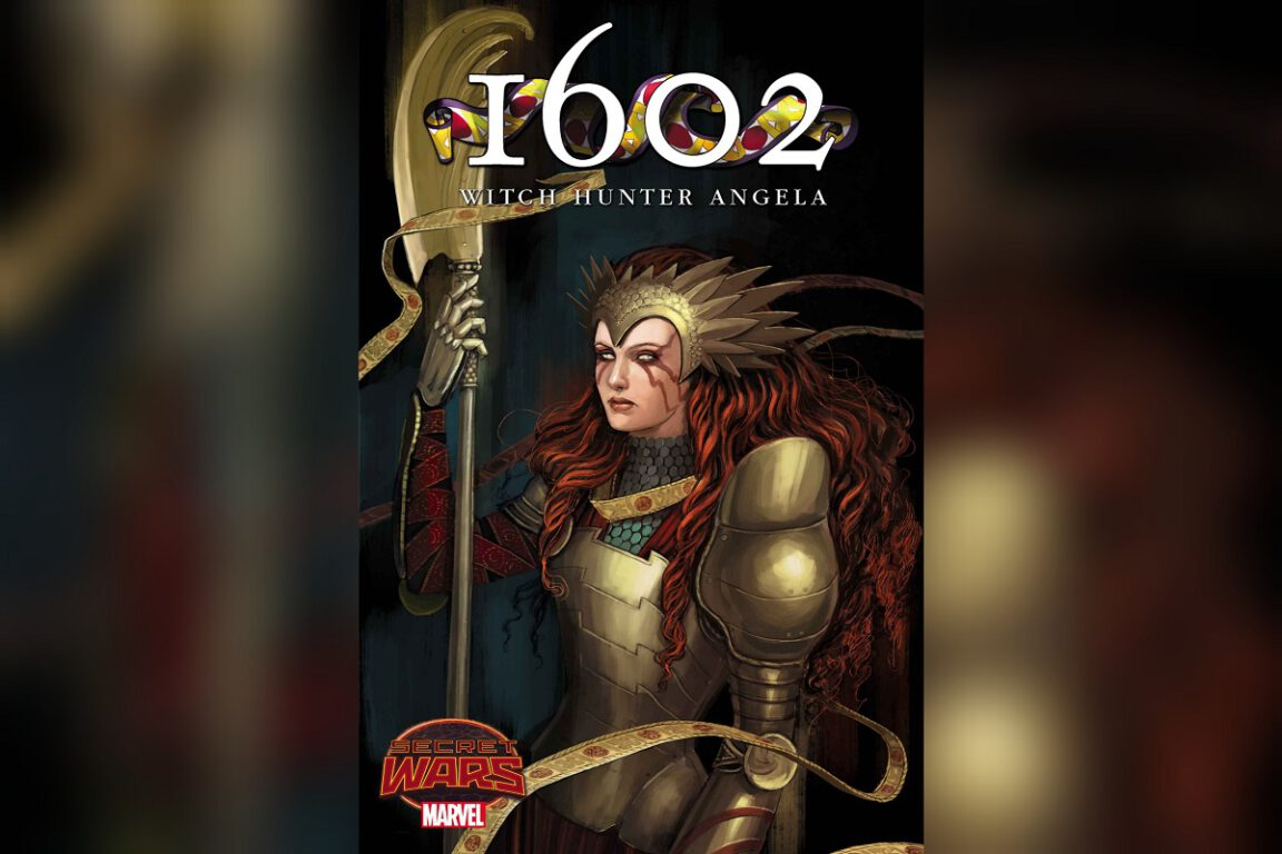 Cover of 1602: Witch Hunter Angela; queer comics