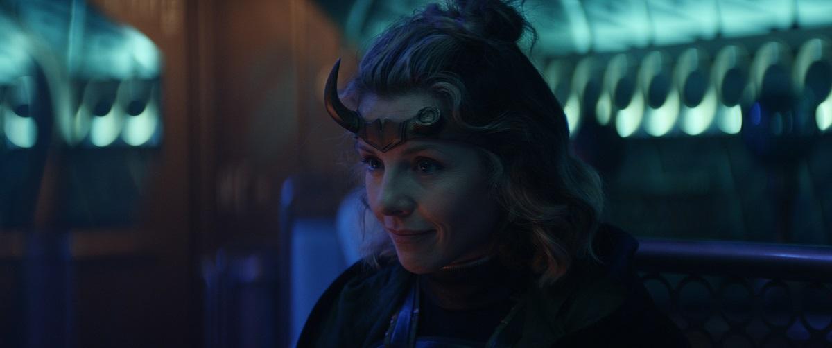 """Still of Sophia Di Martino in the Loki episode """"Lamentis."""""""