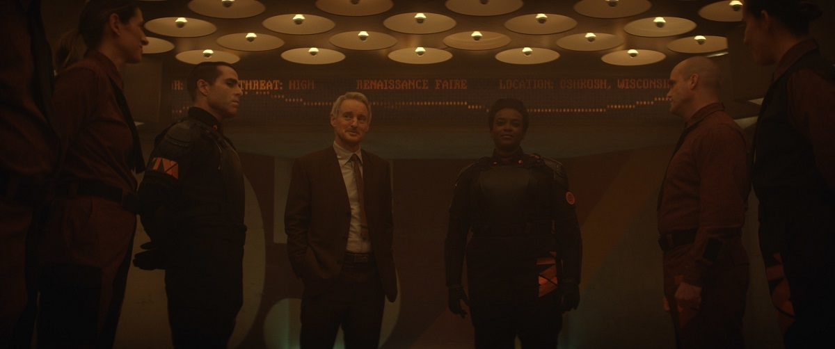"Still of Owen Wilson and Wunmi Mosaku in the Loki episode ""The Variant."""