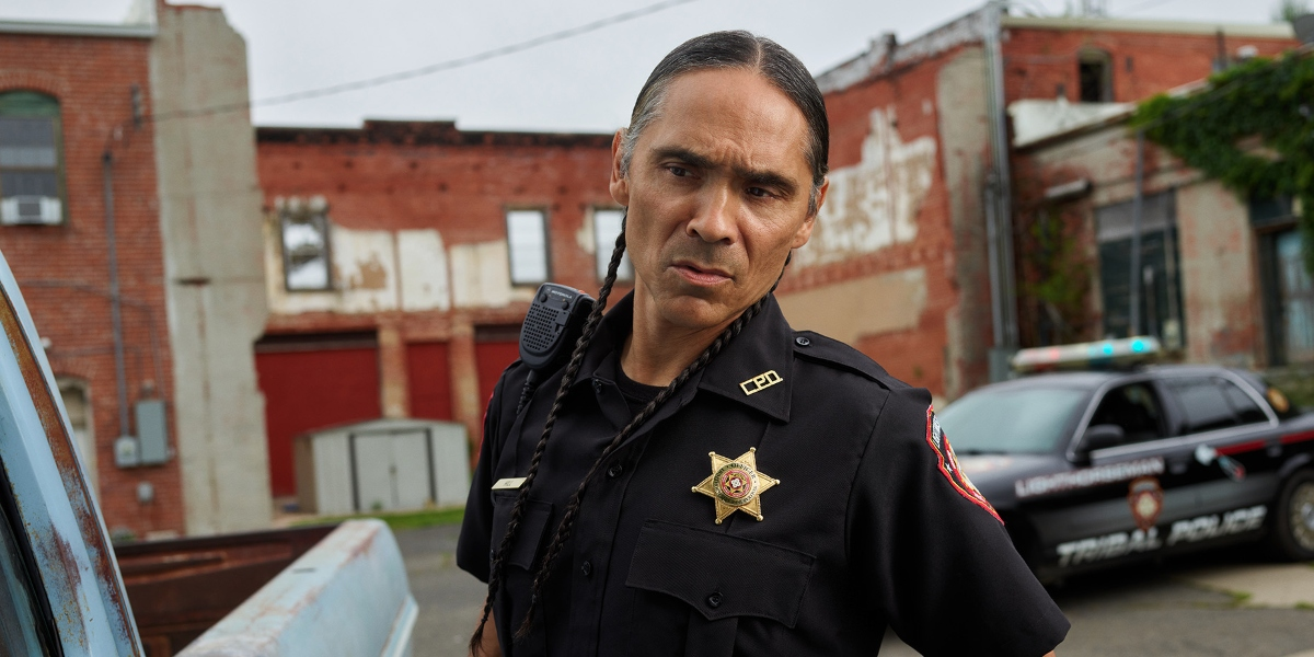 Zahn McClarnon as Big on Reservation Dogs