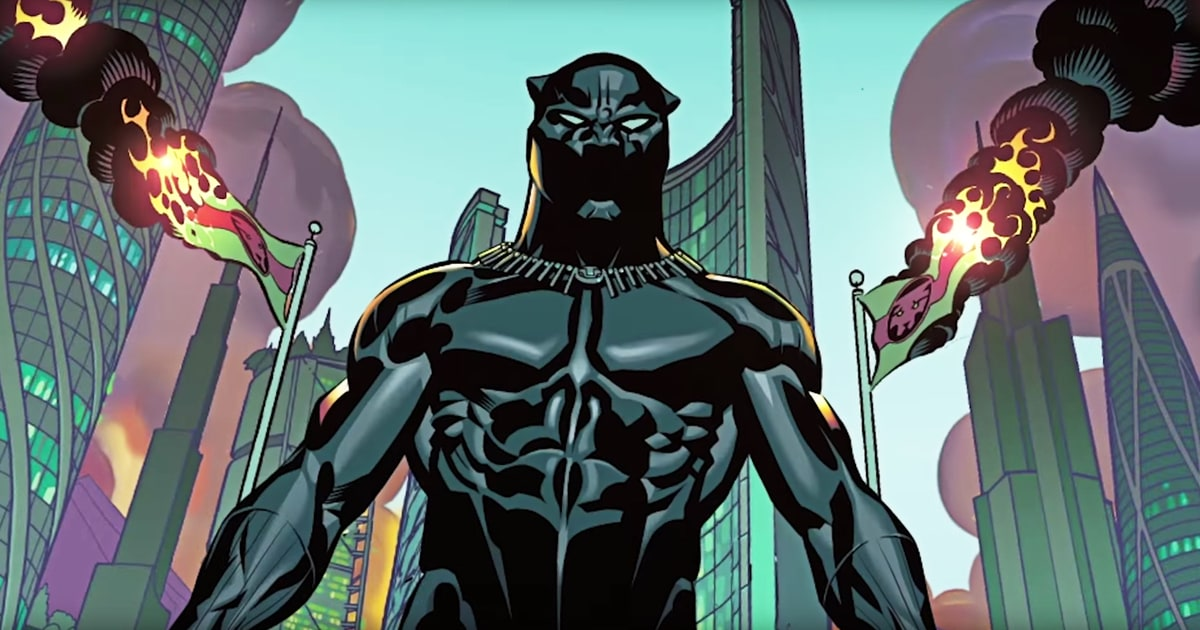 Photo from Black Panther: Tales of Wakanda at SDCC 2021