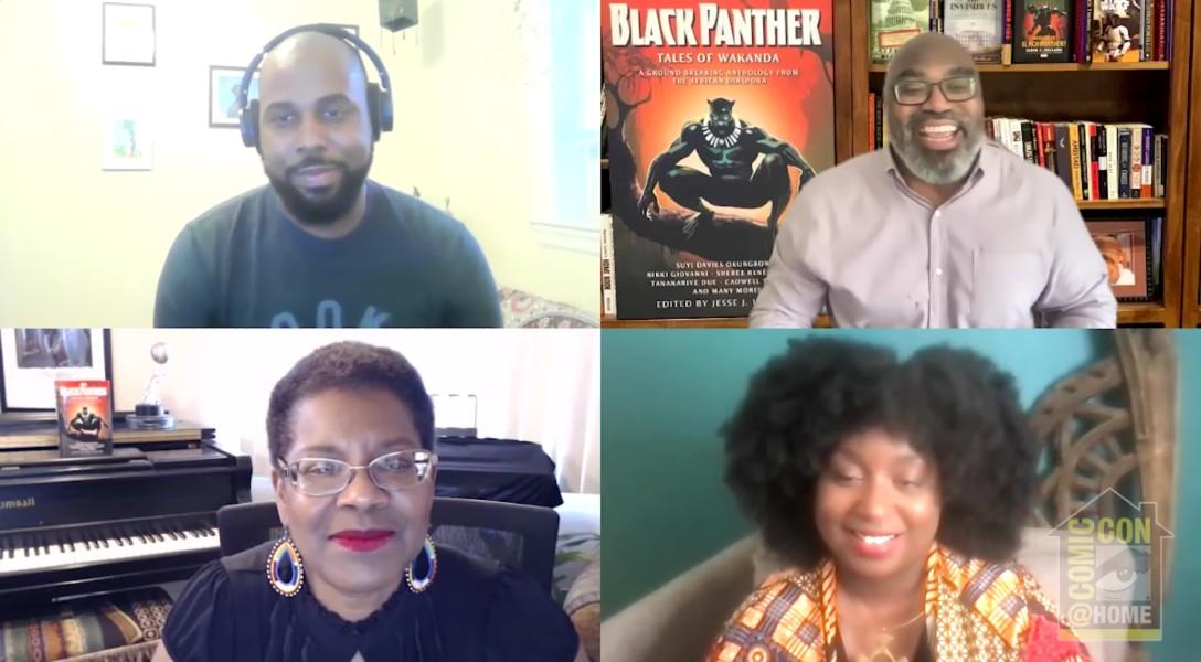SDCC 2021: BLACK PANTHER: TALES OF WAKANDA Panel Talks Wakandan Possibilities