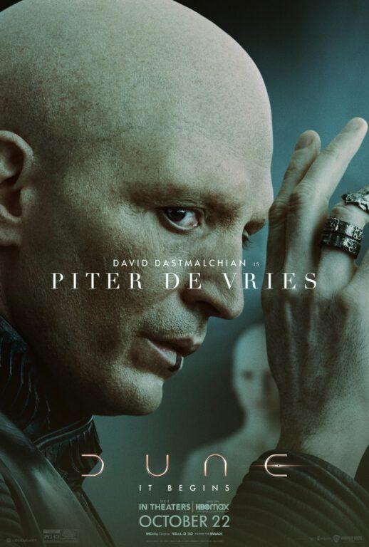 Dune Character Posters - Piter De Vries