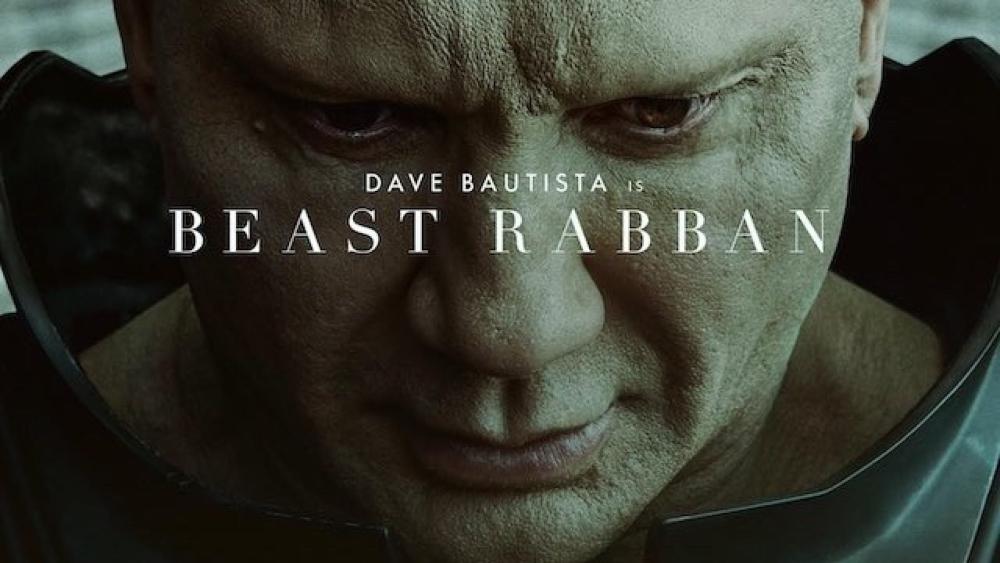 Dune Character Posters - Beast Rabban