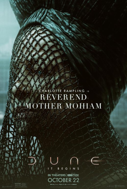 Dune Character Posters - Reverand Mother Mohiam