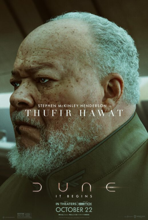 Dune Character Posters - Thufir Hawat