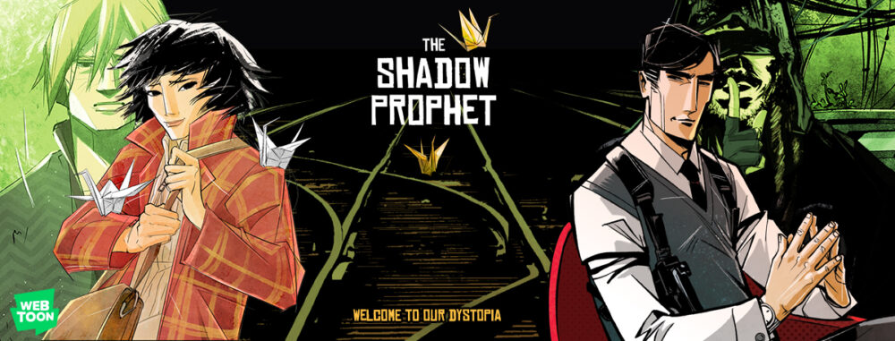 Banner for The Shadow Prophet.