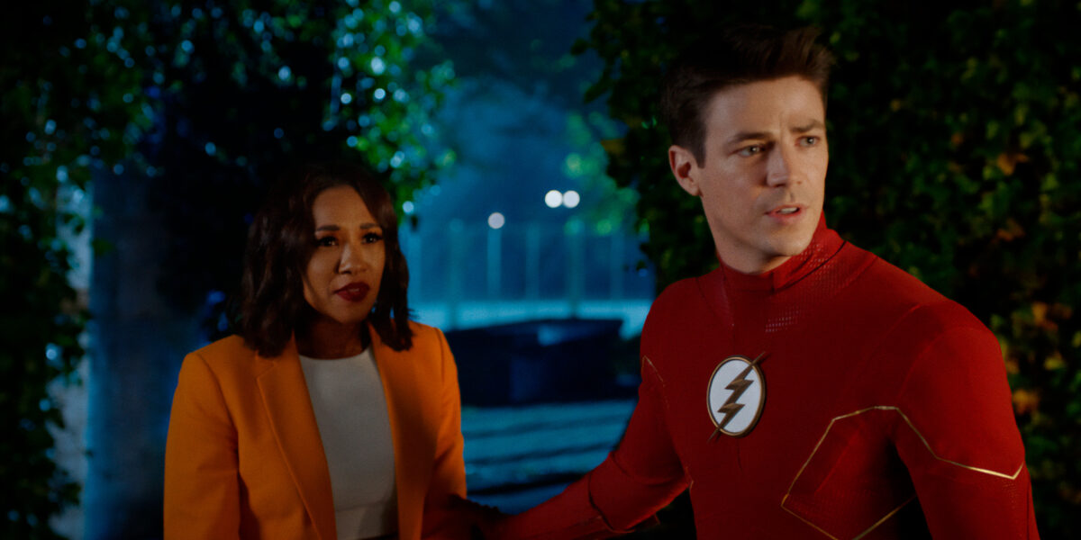 Barry discovers that Iris is in danger