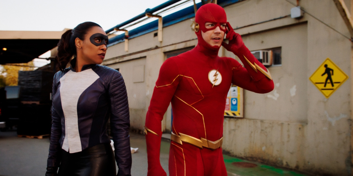 Flash and Iris team up to face the Godspeeds