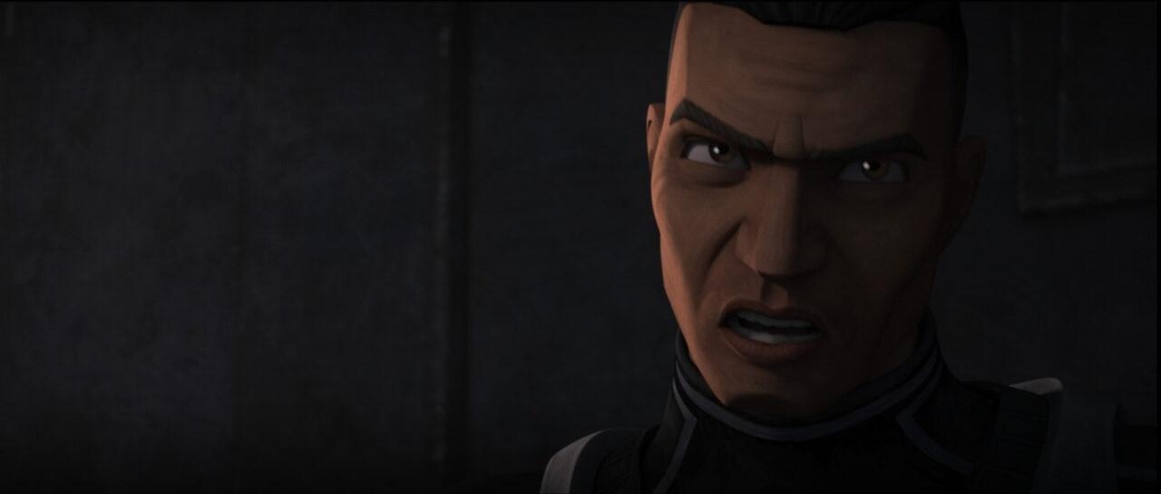 Captain Gregor on Star Wars: The Bad Batch
