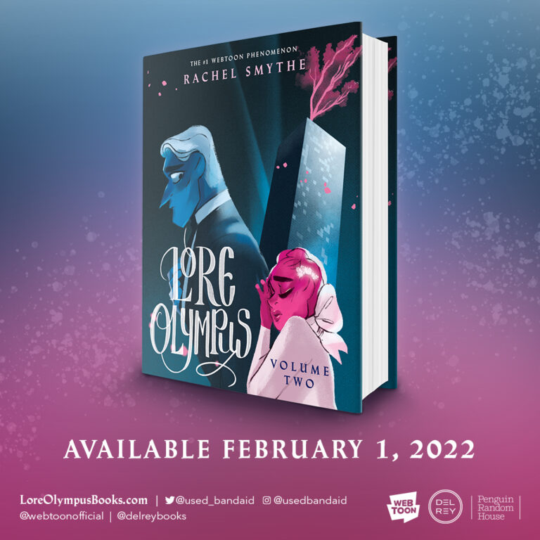 The cover for Lore Olympus Volume 2.