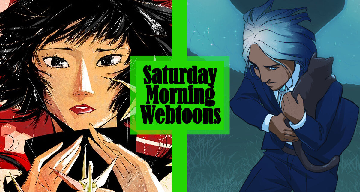 Saturday Morning Webtoons: THE SHADOW PROPHET and ASTERION