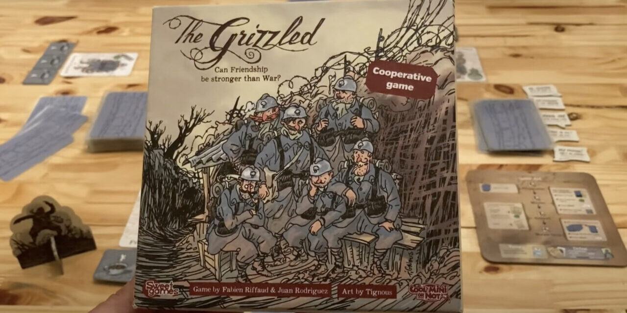 THE GRIZZLED Board Game: Still Deliciously Tough