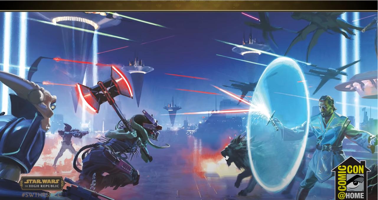 The Nihil attack the Republic Fair on Valo