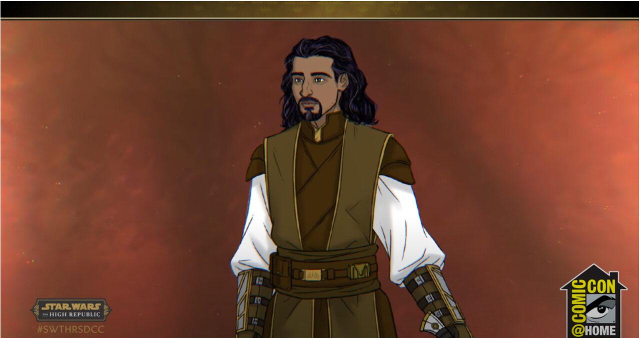 Jedi Master Cohmac Vitus in Star Wars: The High Republic