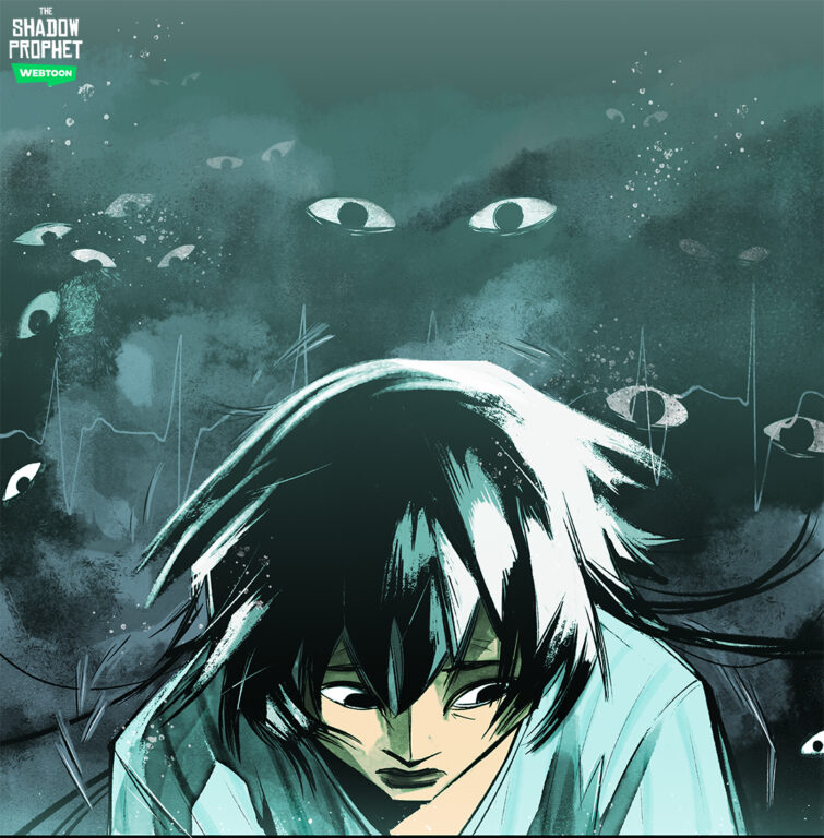 Itshou feeling as if she is being watched in The Shadow Prophet.