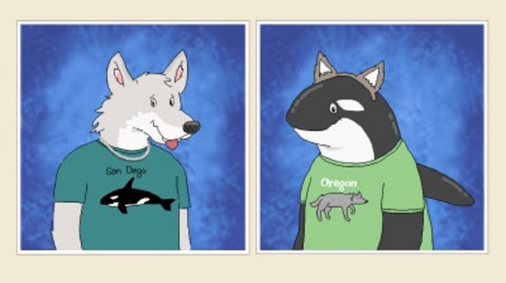 Panel from The Wolves Outside.