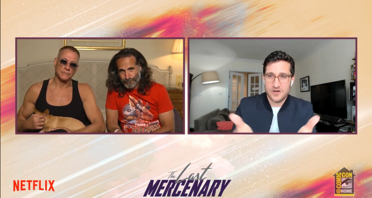 SDCC 2021: Netflix Geeked THE LAST MERCENARY Is Action and Comedy In One