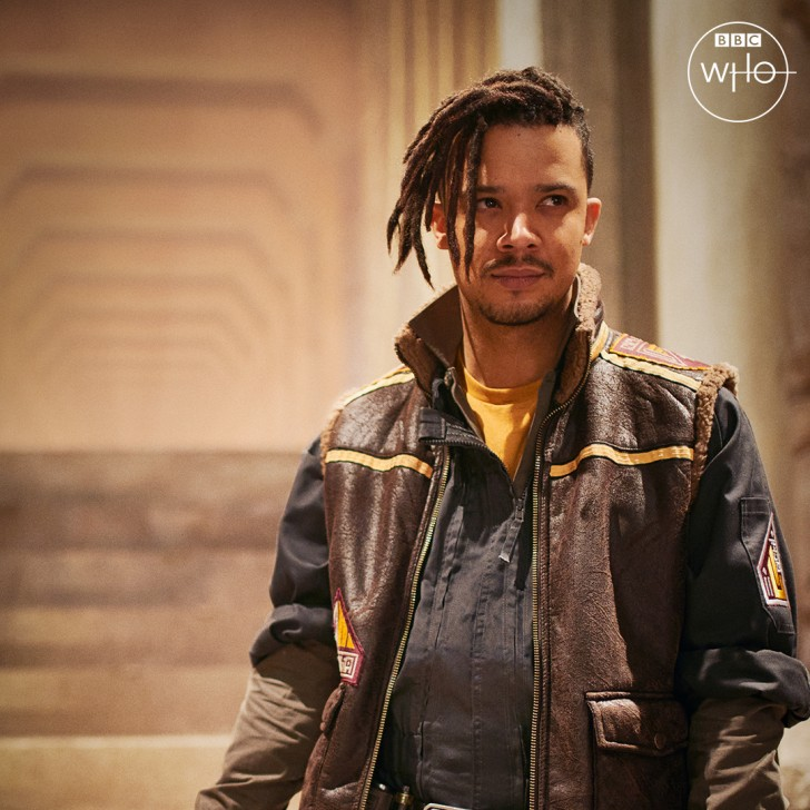 Jacob Anderson as Vinder in Doctor Who, revealed at SDCC 2021.