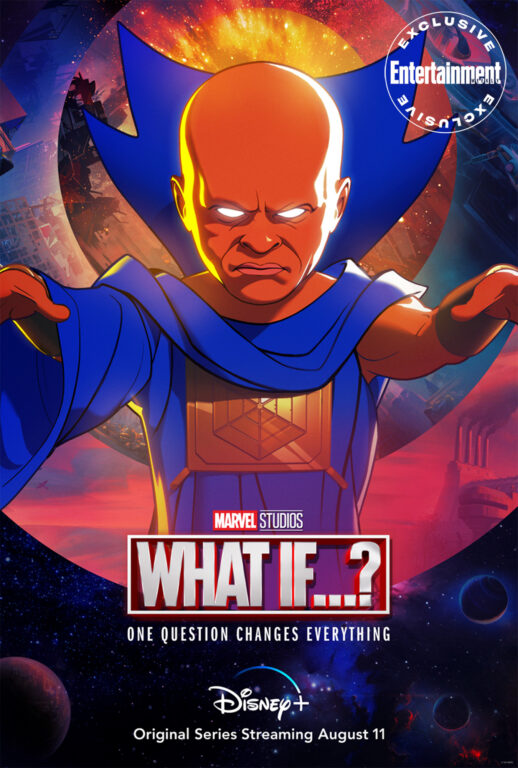 Watcher character post for Marvel's What If...?