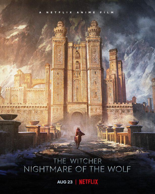 Poster for Netflix's The Witcher: Nightmare of the Wolf.