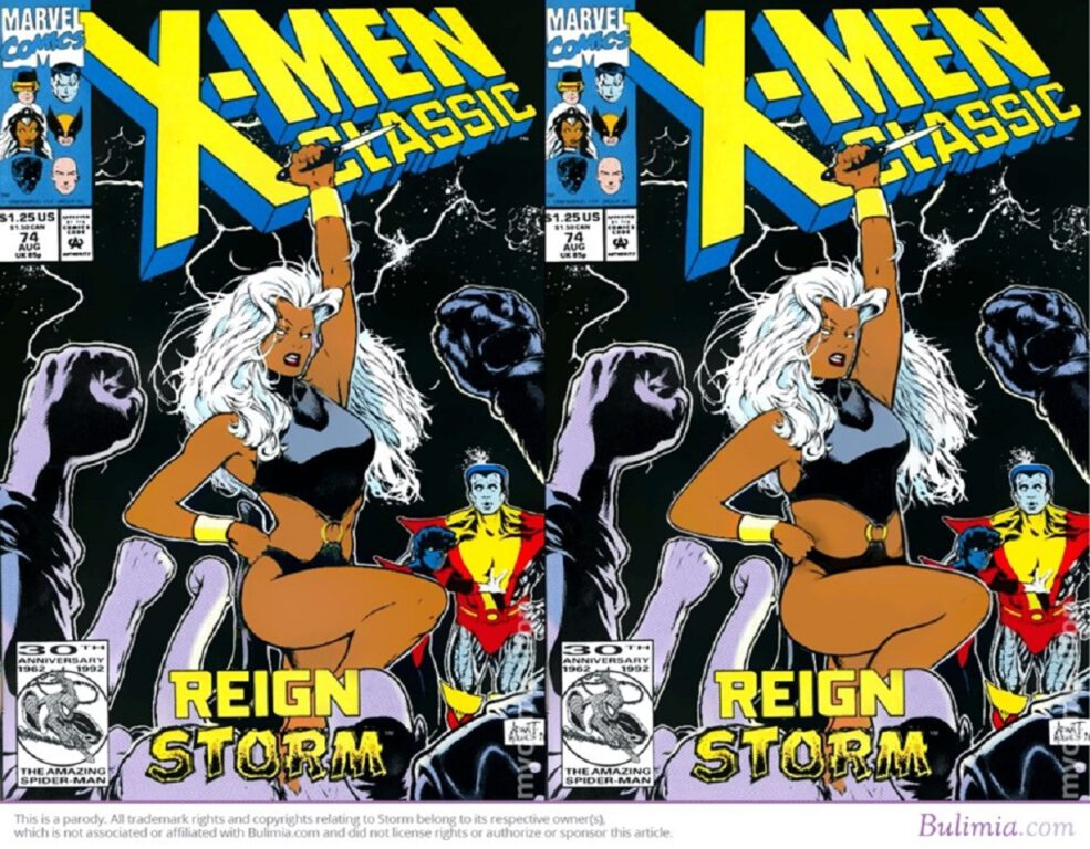 """X-Men Classic cover for """"Reign Storm"""""""