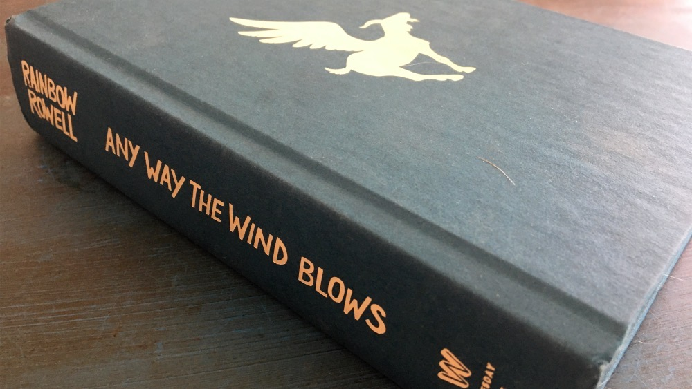 Hardcover of Any Way the Wind Blows