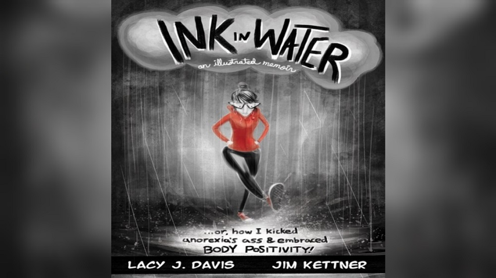 Cover of Ink in Water, which centers on eating disorders.