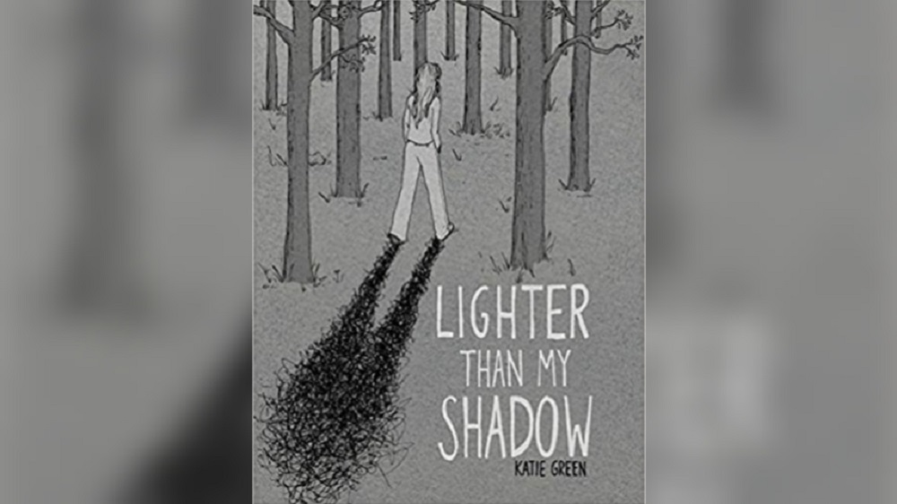 Cover of Lighter Than My Shadow, which centers on eating disorders.