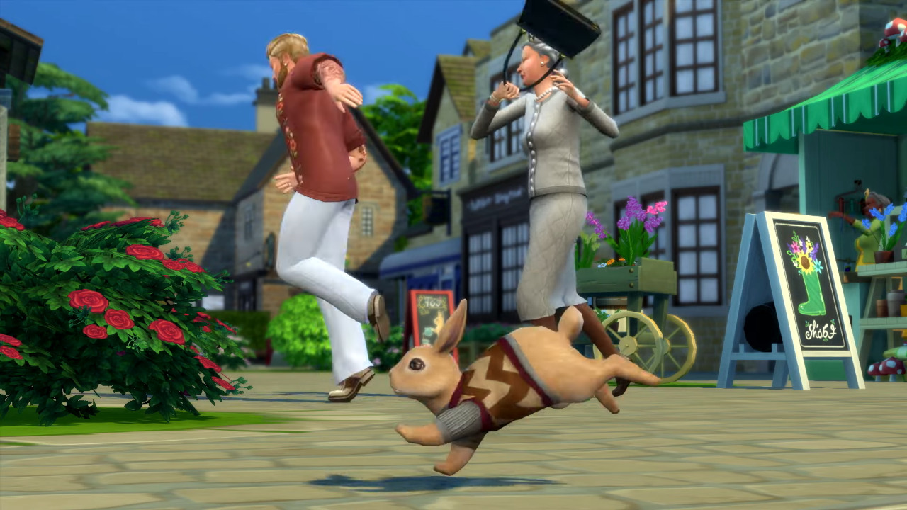 The Sims 4: Cottage Living. Agnes Crumplebottom.