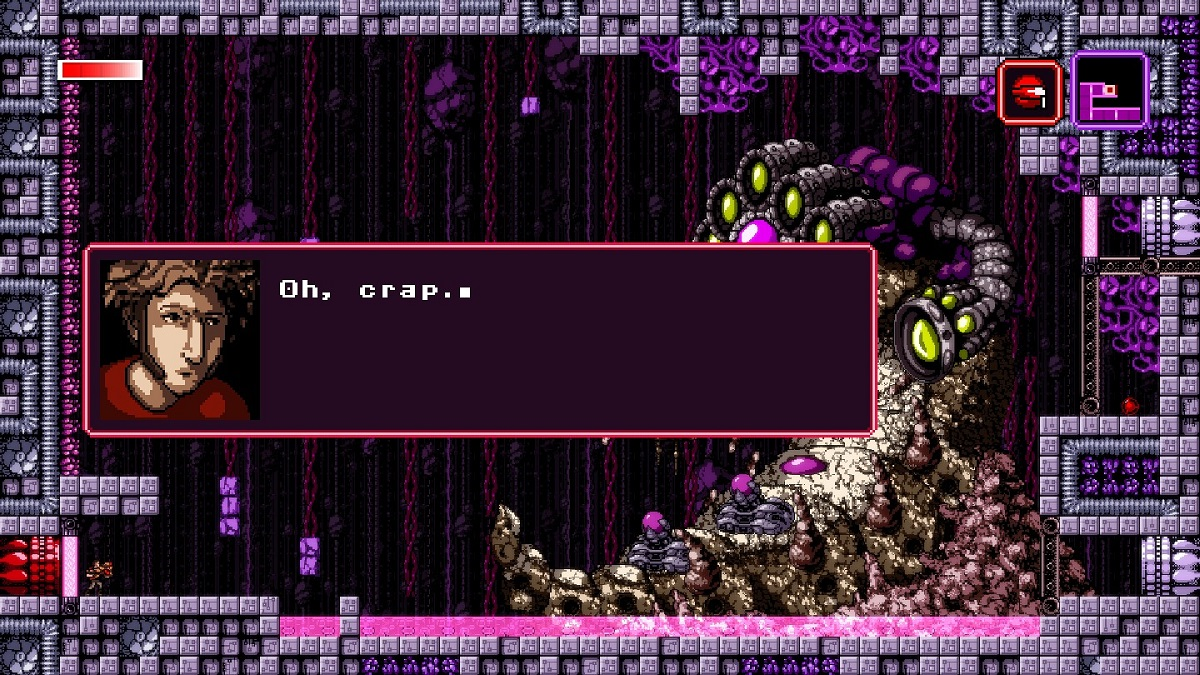 Image from Axiom Verge game.