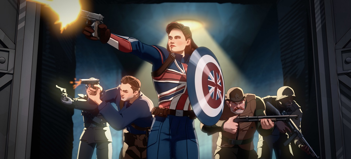 Photo of Captain Carter and the Howling Commandos in Marvel's What If...?