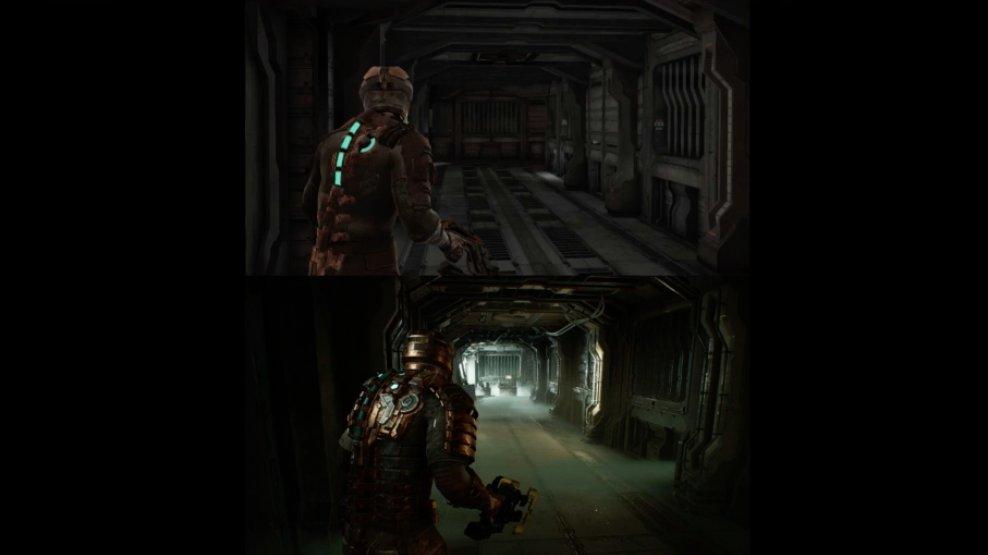2008 vs 2021 Dead Space