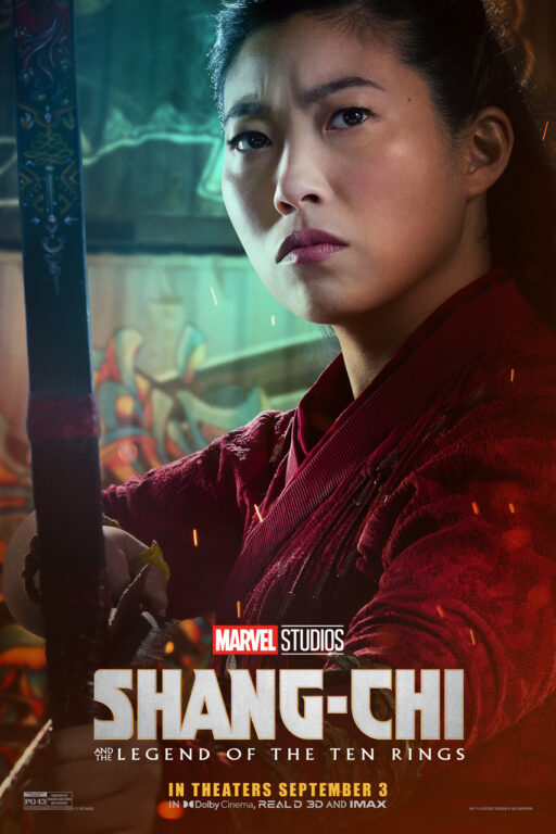 Awkwafina as Katy in Shang-Chi and the Legend of the Ten Rings