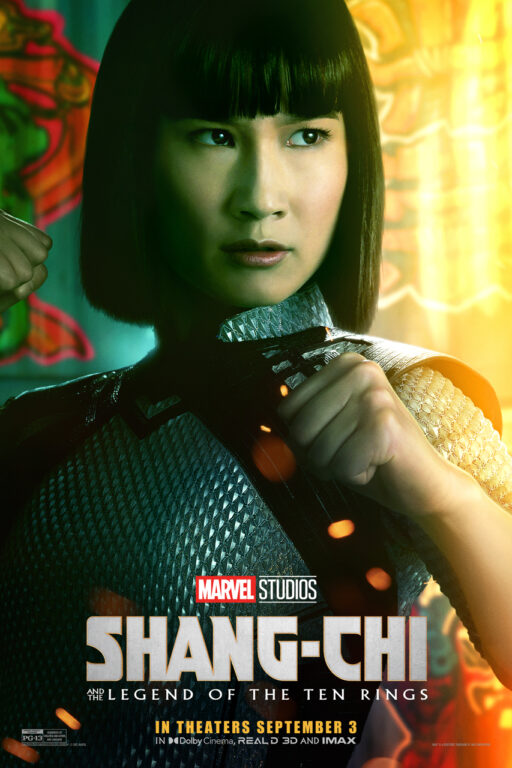 Meng'er Zhang as Zialing in Shang-Chi and the Legend of the Ten Rings