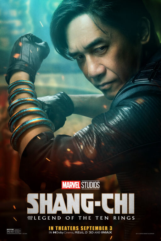 Tony Leung as Wenwu in Shang-Chi and the Legend of the Ten Rings