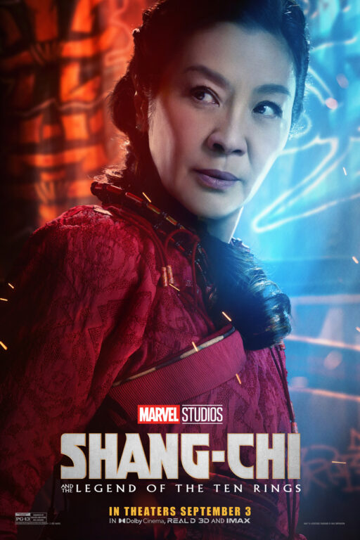 Michelle Yeoh as Jiang Nan in Shang-Chi and the Legend of the Ten Rings