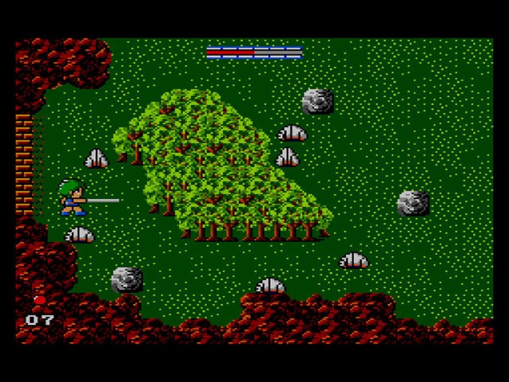 Screenshot of Golvellius console game.