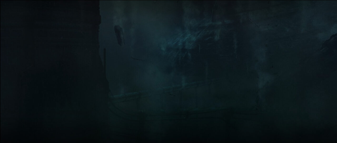 The ruins of Tipoca City on Kamino in Star Wars: The Bad Batch.
