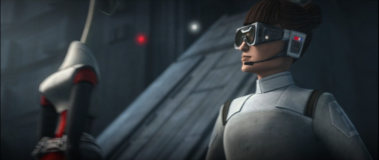 Medical Officer welcomes Nala Se to Imperial service.