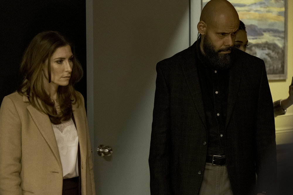"""Still of Sarah Levy and Maurice Dean Wint in the SurrealEstate episode """"Ft. Ghost Child."""""""