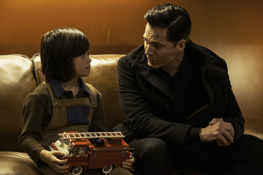 """Still of Atticus Lee-Sampson and Tim Rozon in the SurrealEstate episode """"Ft. Ghost Child."""""""